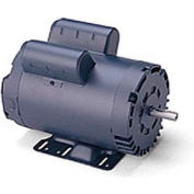 Leeson Motors Motor Electric Motors - 2HP, 115/208-230V, 1740RPM, DP, Rigid Mount