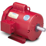 Leeson Motors Motor Electric Motors -2HP, 115/208-230V, 1740RPM, TEFC, Rigid Mount, 1.15 S.F.