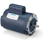 Leeson Motors-3HP, 115/230V, 1740RPM, DP, C Face Mount, 1.15 SF, 75.5 Eff.