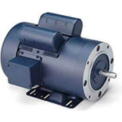 Leeson Motors-3HP, 115/208-230V, 1740RPM, TEFC, Rigid C Mount, 1.0 SF, 77 Eff.