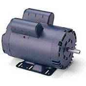 Leeson Motors Single Phase General Purpose Motor 3HP, 1750RPM, 184, DP, Manual, Rigid