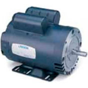 Leeson Motors Single Phase General Purpose Motor 5HP, 3500RPM, 184, TEFC, 230V, 60HZ, Manual, Rigid