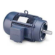 Leeson G140691.00, High Eff., 15 HP, 3520 RPM, 208-220/460V, 215TC, TEFC, C-Face Footless