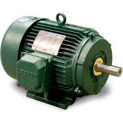 Leeson 171620.60, Premium Eff., 15 HP, 3550 RPM, 208-230/460V, 254T, TEFC, Rigid