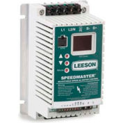 Leeson Motors AC Controls Sub-Micro Series VFD Drive , IP20, 3PH, 1/2HP, 400-480V