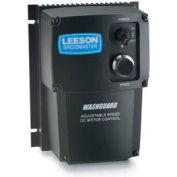 Leeson Motors DC Controls SCR Series, PWM Series , NEMA 1, Non-Reversing, 1-1/8-1HP/1/4-2HP