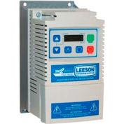 Leeson Motors AC Controls Vector Series Drive VFD,NEMA 1,3PH,1HP,120/240