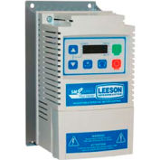 Leeson Motors AC Controls Vector Series Drive VFD,NEMA 1,3PH,3HP,200/240V 9.6 Amps