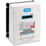 Leeson Motors Nema 4/12, 1 HP, 400-480 Volts, Washdown Inverter Drive Epoxy Coated
