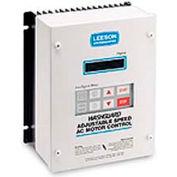 Leeson Motors Nema 4/12, 1 HP, 480-590 Volts, Washdown Inverter Drive Epoxy Coated