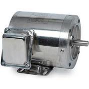 Leeson 191417.00, Standard Eff., 1 HP, 1140 RPM, 208-230/460V, 56HC, TEFC, C-Face Rigid