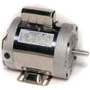 Leeson 6439191252, 1 HP, 1800 RPM, 1-Phase, 115/230V, 60 Hz, 56C, TENV, C-Face Rigid, 15 Min.