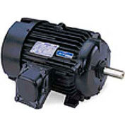 Leeson Motors 3-Phase Explosion Proof Motor, 60HP, 1800RPM,364T,EPFC,230/460V,60HZ,40C,1.15SF,Rigid