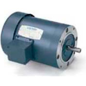 Leeson G120105.00, High Eff., 1.5 HP, 3490 RPM, 208-230/460V, 143TC, TEFC, C-Face Footless