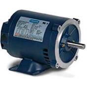 Leeson 121935.00, Premium Eff., 1 HP, 1725 RPM, 208-230/460V, 143TC, DP, C-Face Rigid