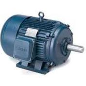 Leeson G131465.00, High Eff., 3 HP, 1740 RPM, 200-208/400-416V, 182T, TEFC, Rigid