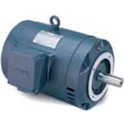 Leeson G131779.00, High Eff., 5 HP, 3500 RPM, 208-230/460V, 182TC, DP, C-Face Footless
