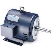 Leeson Motors 3-Phase Pump Motor , 7.5HP, 1760RPM, 213JM, DP, 208-230/460V, 60/50HZ, 40C, 1.15SF