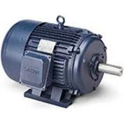 Leeson 170615.60, Premium Eff., 15 HP, 3520 RPM, 208-220/460V, 215T, TEFC, Rigid