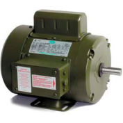 Leeson Motors Single Phase Farm Ag Motor 1 1/2HP, 1725RPM, TEFC, 115/208-230V, 60HZ, Manual, Rigid