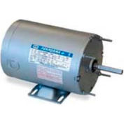 Leeson Motors Single Phase Farm Ag Motor 1/2HP, 1060RPM, 48Y, TENV, 115/230V, 60HZ, Auto, Rigid