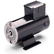 Leeson Motors Metric DC Motor-.18-.25 KW, 180V, 3000RPM, IP54, B14