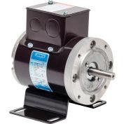 Leeson Motors AC Integral, 1725RPM, 1/6HP, 38, Inverter Rated, 230V, 3PH, 60HZ, TENV