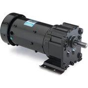 Leeson Motors Motor Gearmotor-Parallel Shaft, 60RPM, 1/6HP, TEFC, 115/230V, AC
