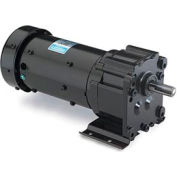 Leeson Motors Motor Gearmotor-Parallel Shaft, 156RPM, 1/6HP, TEFC, 115/230V, AC