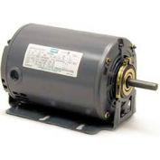 Leeson Motors M900277.00, Single Phase  Motor .33/, 11HP, 1725/1140RPM.56, Dp, 60HZ, Cont, Auto