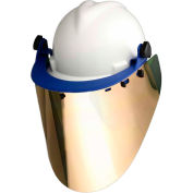 "Paulson Cap Bracket & 10"" Gold/Clear Face Shield, CB- 2HD + IM22- GHC6F"