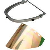 Paulson Aluminum Cap Bracket & Gold/Green Face Shield, CB10- PA + IM22- GHC6FM