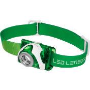 LED LENSER® 880125 SEO3™ 100 Lumen LED Headlamp - Green