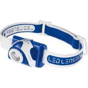LED LENSER® 880132 SEO™ 7R Rechargeable LED Headlamp - Blue