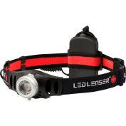 LED LENSER® 880296 H6R 200 Lumen Rechargeable LED Headlamp - Black