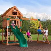 Backyard Odyssey™ Trek Cedar All Cedar Outdoor Swingset