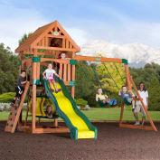Backyard Odyssey™ Compass Cedar All Cedar Outdoor Swingset
