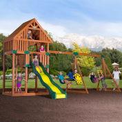 Backyard Odyssey™ Quest Cedar All Cedar Outdoor Swingset