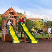 Backyard Odyssey™ Journey Cedar All Cedar Outdoor Swingset