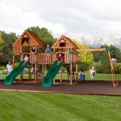 Backyard Odyssey™ Vista Cedar All Cedar Outdoor Swingset