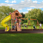 Backyard Odyssey™ Excursion Cedar All Cedar Outdoor Swingset