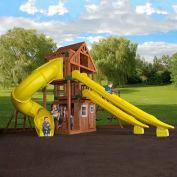 Backyard Odyssey™ Traverse Cedar All Cedar Outdoor Swingset
