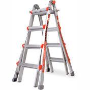 Little Giant Aluminum Super Duty Multi-Use Extension Ladder, 15' Type 1AA - 10402