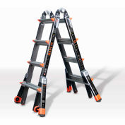 Little Giant Fiberglass Dark Horse Multi-Use Extension Ladder, 17' Type 1A - 15147-001