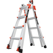 Little Giant Aluminum Velocity Multi-Use Extension Ladder, 17' Type 1A - 15417-001