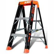 Little Giant Fiberglass MicroBurst Step Ladder, 3' Type 1AA - 15703-001