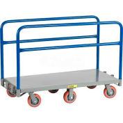 Little Giant® 6-Wheel Adjustable Sheet & Panel Truck APT6W-3048-6PY, 48 x 30 3600 Lb. Capacity