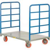 Little Giant® Double End Rack Platform Truck DR-2448-6PY, 48 x 24 3600 Lb. Capacity