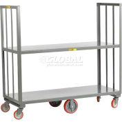 Little Giant® 2 Shelf High-End Platform Truck HE2-1648, 48 x 16 2000 Lb. Capacity