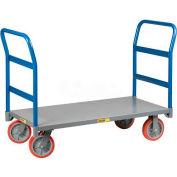 Little Giant® Double Handle Platform Truck NBB-2448-8PY-2H, 48x24 3600 Lb. Cap.